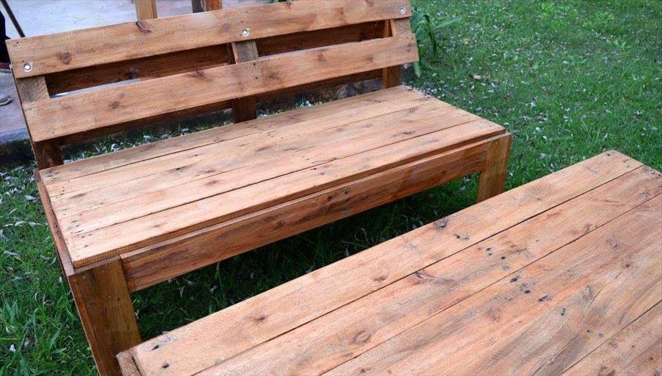 Recycelte Paletten Garten Sitzmöbel #recyceltepaletten Recycelte Paletten Garten Sitzmöbel - Handmade Paletten Garten Sitzgruppe Set  #Palettengarten #recyceltepaletten