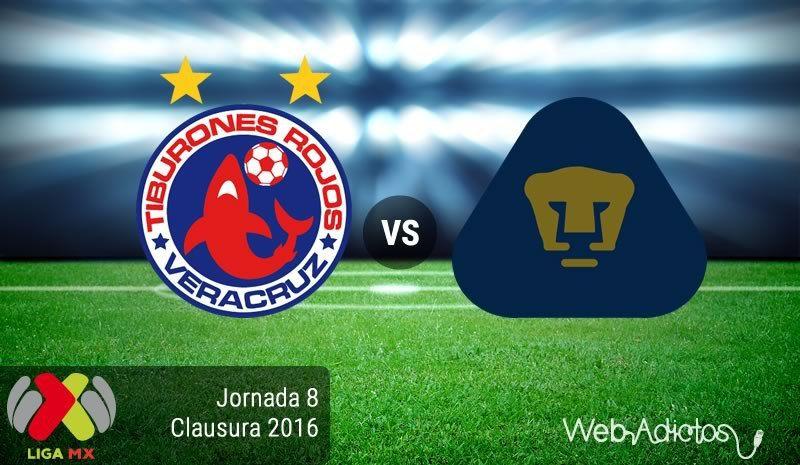 Veracruz vs Pumas, Jornada 8 del Clausura 2016 ¡En vivo por internet! - https://webadictos.com/2016/02/26/veracruz-vs-pumas-clausura-2016/?utm_source=PN&utm_medium=Pinterest&utm_campaign=PN%2Bposts