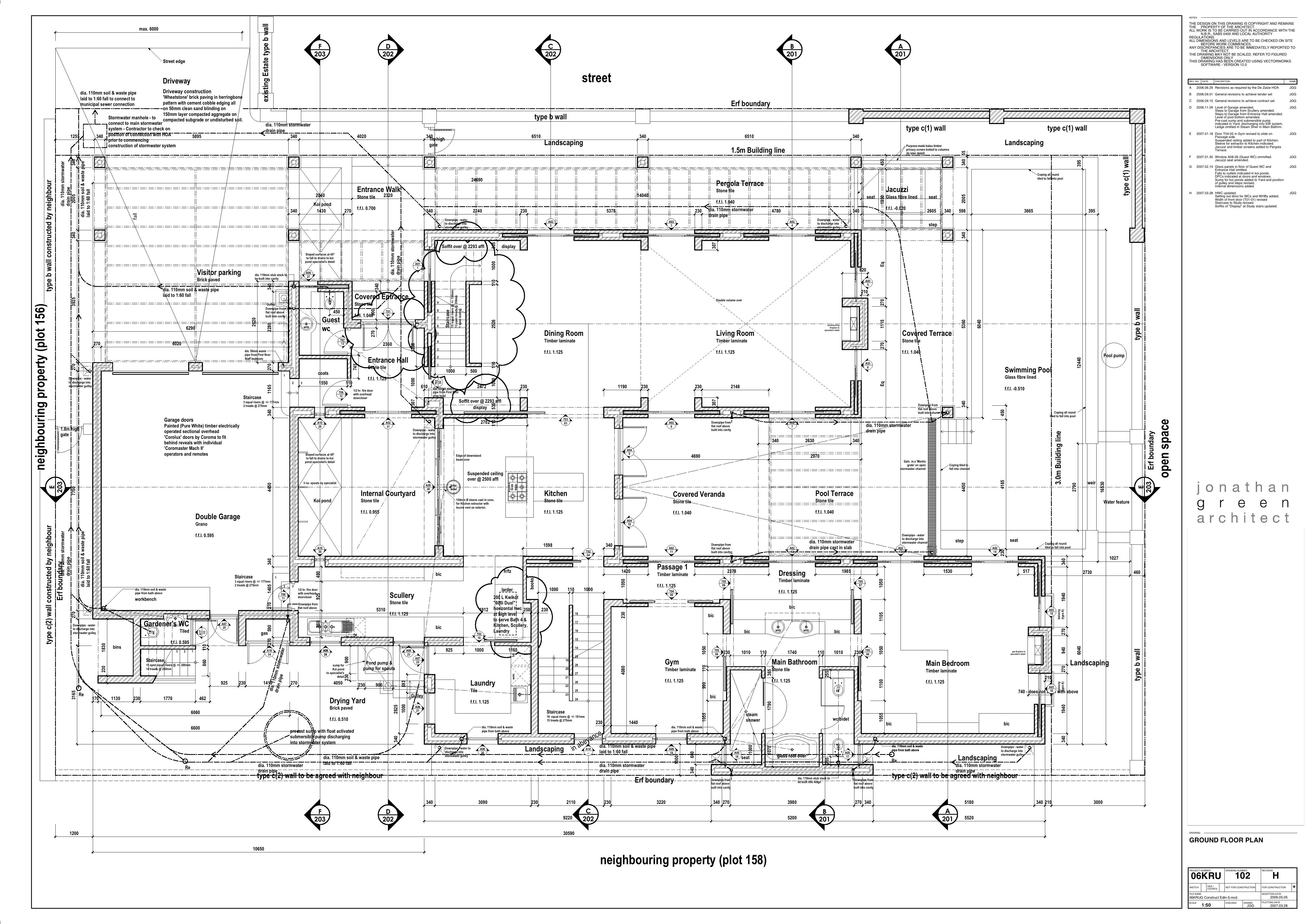 Ground Floor plan (con imágenes)