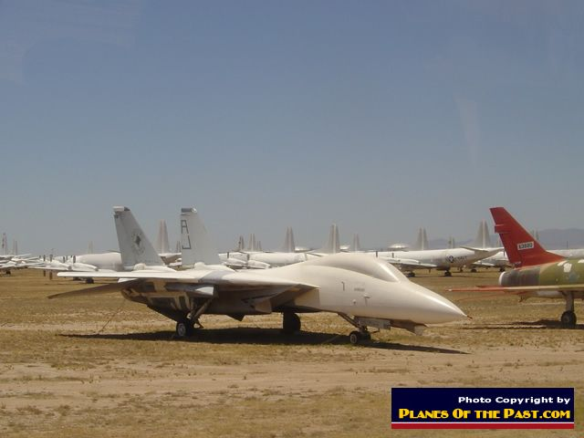 F 14 In Storage At Amarg Davis Monthan Air Force Base Tucson