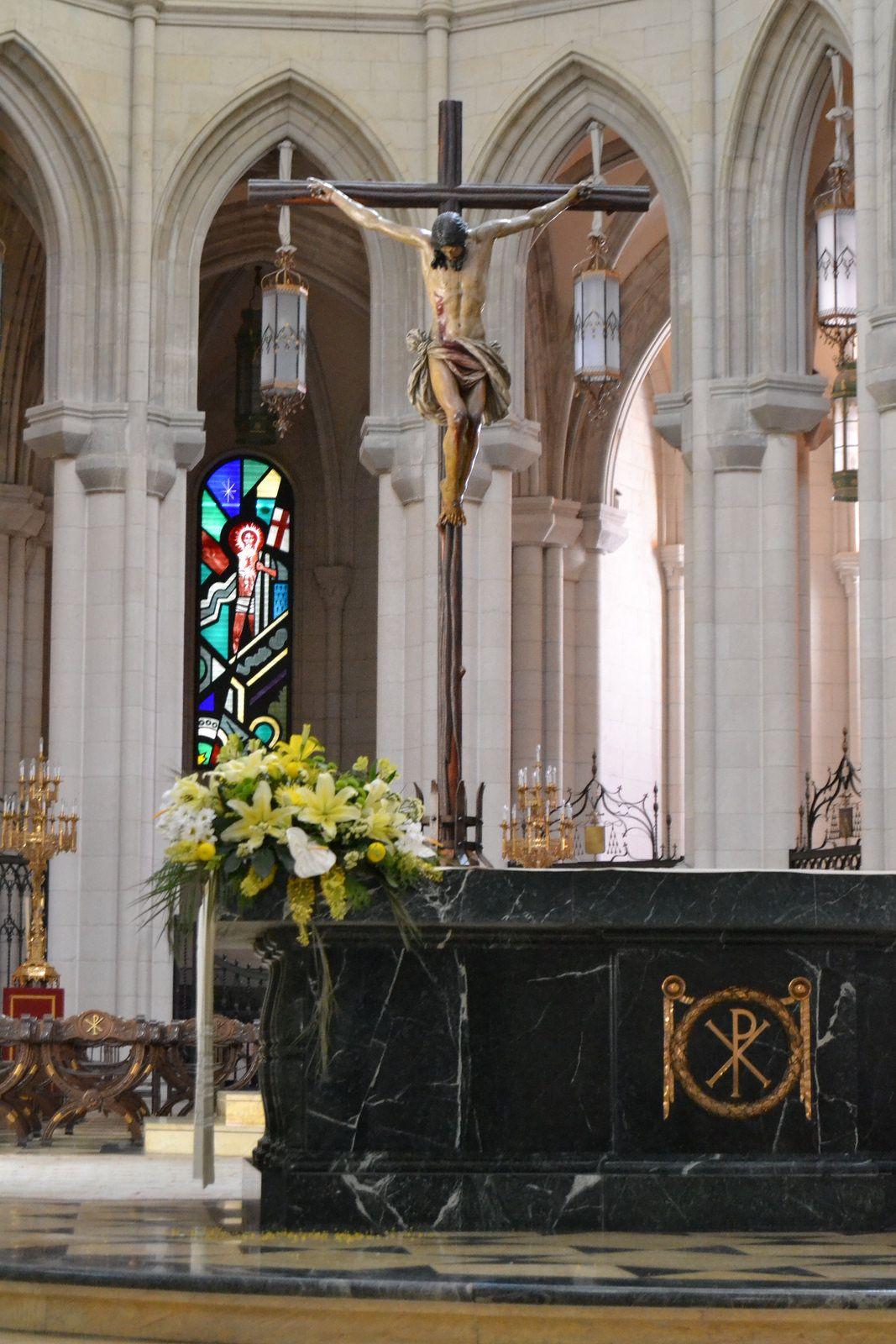 Catedral De La Almudena Madrid Madrid Spain Spain Barcelona Spain