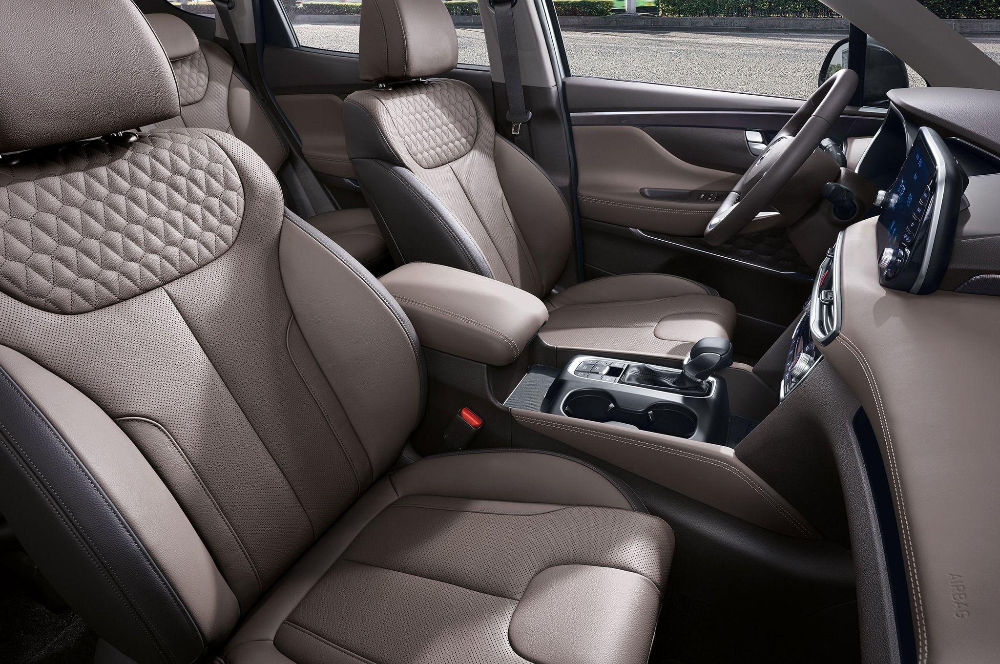 New Hyundai Santa Fe 2020 Interior