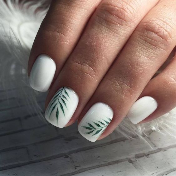44 Unique Nails Make People Shine Page 14 Of 44 In 2020 With Images Short Acrylic Nails Designs Gold Nails Short Acrylic Nails