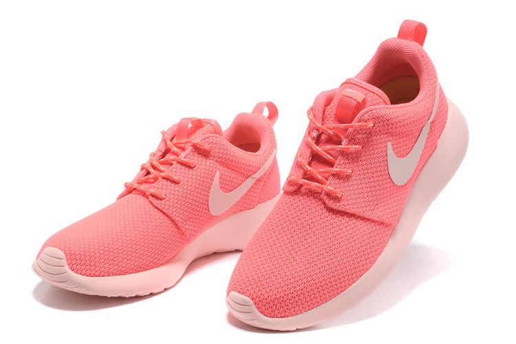 Nike Roshe Run Femme Chaussure fluo La Rouge prix spécial
