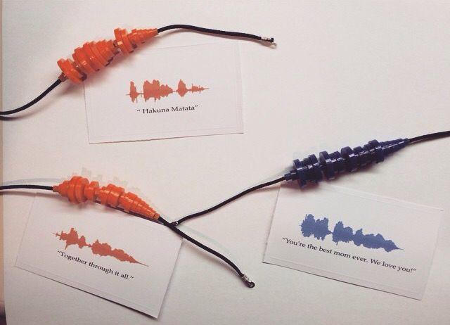 Soundwave Bracelets And Necklaces