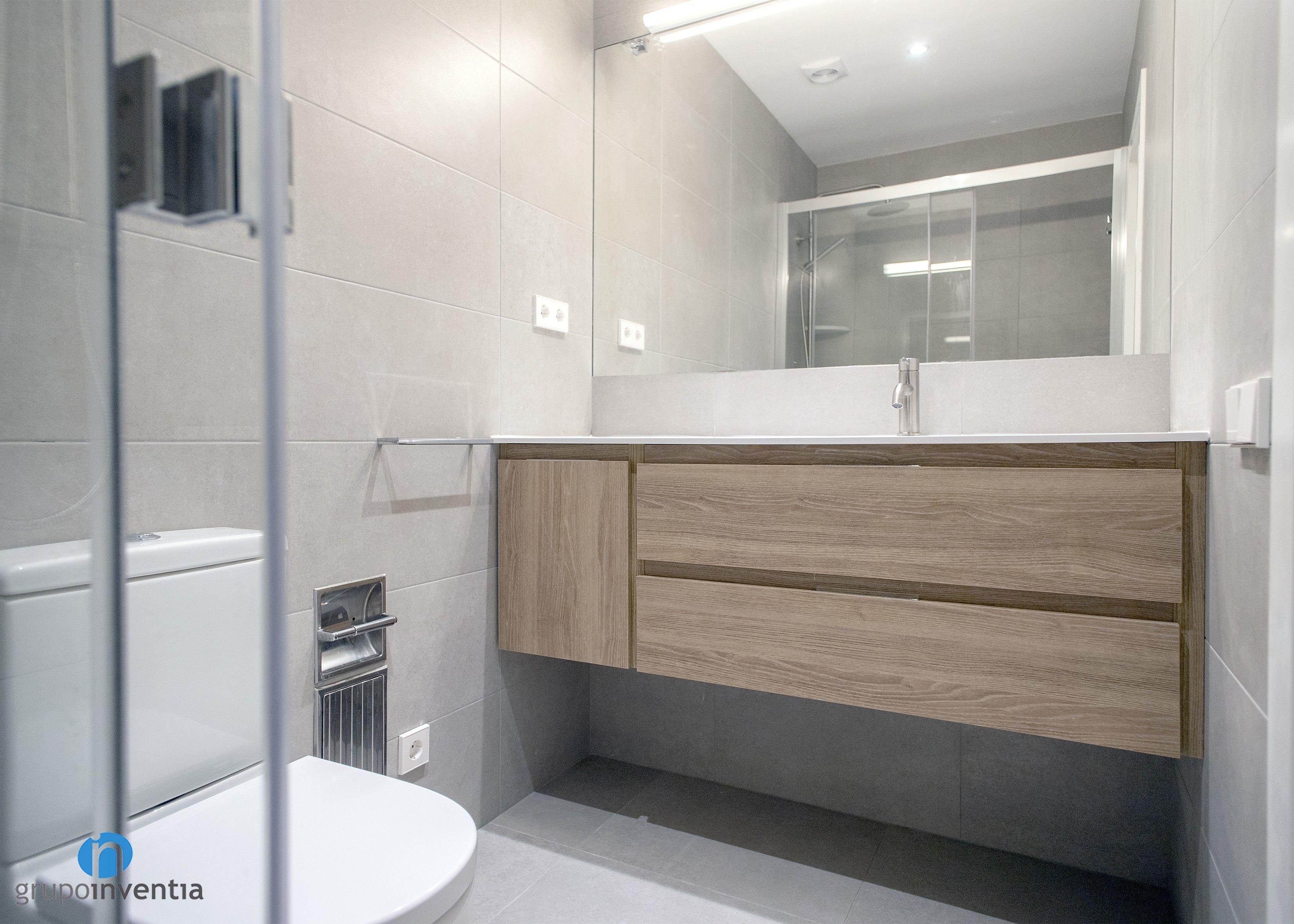Pin en Cuarto de baño reformado en calle Mallorca de Barcelona