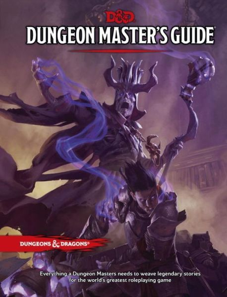 Dd 50 Dungeon Masters Guide Book Cover And Interior Art For