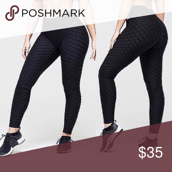 713d9cd9d1aad Brazilian Honeycomb Fitness Gym Leggings 💠COLORS: 🖤MIDNIGHT 💛💛Check my  other listings for other colors!💛💛 Brazilian Supplex Stretch Leggings.