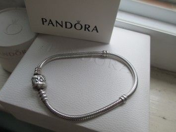 Pandora Authentic Bracelet Sterling Silver 7 1
