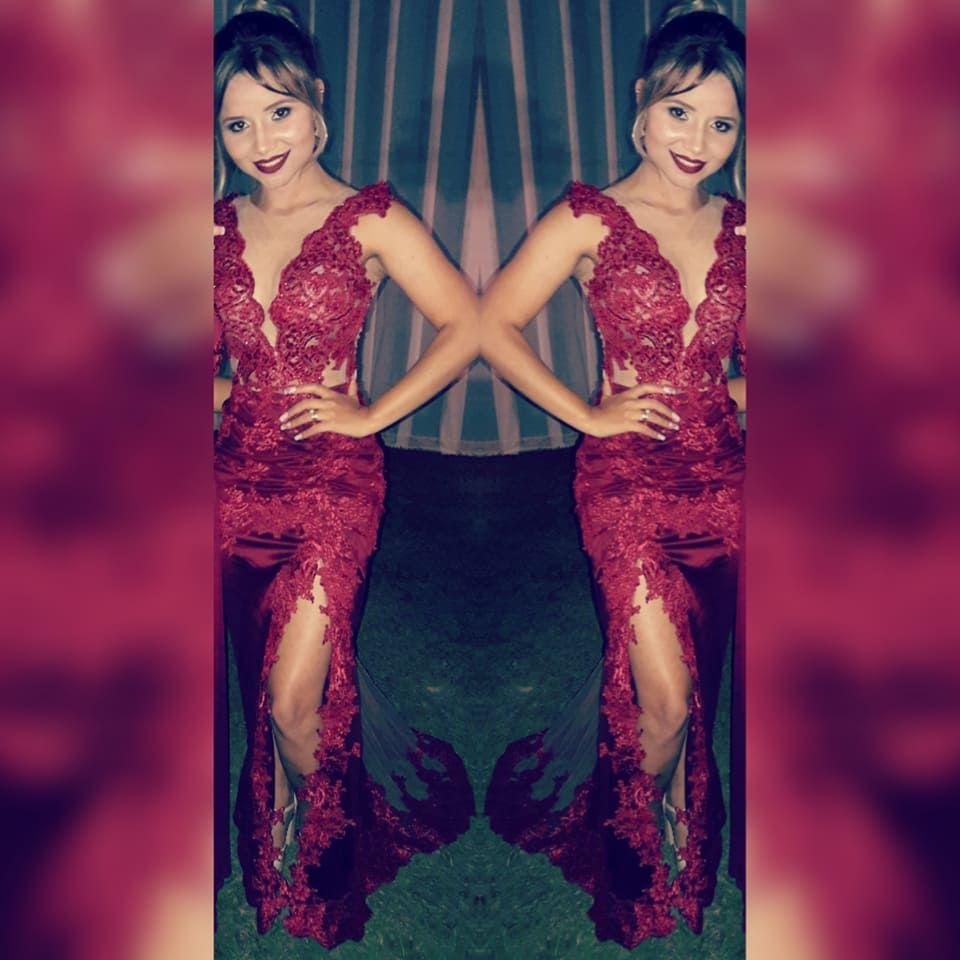 Vestido feito sob medida pelo Atelier Karmem Brandão #Madrinha de casamento #formatura