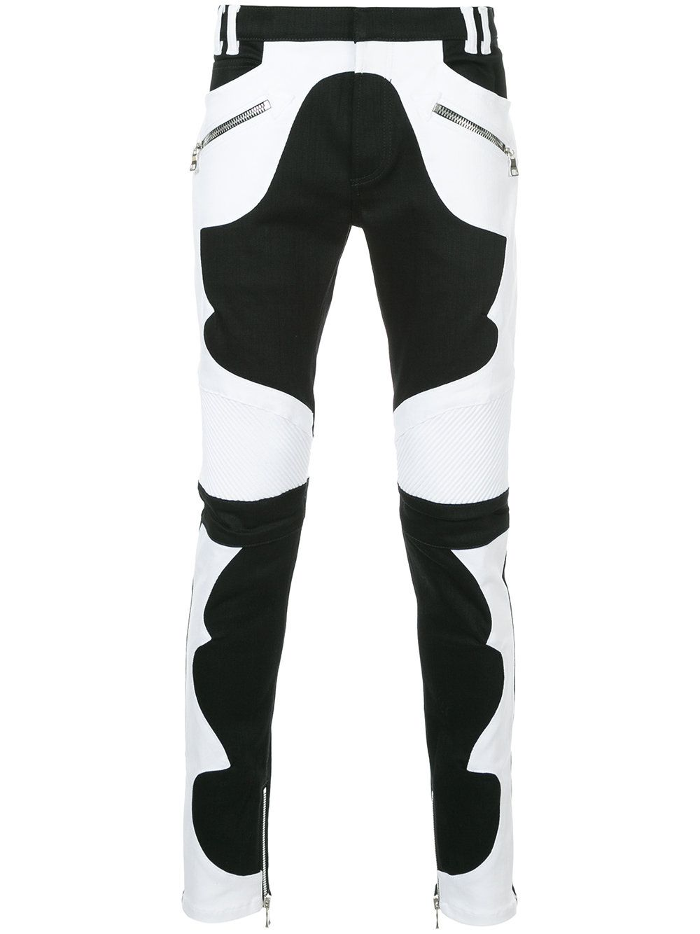 Balmain Balmain Cloth Biker Jeans Balmain Men Balmain