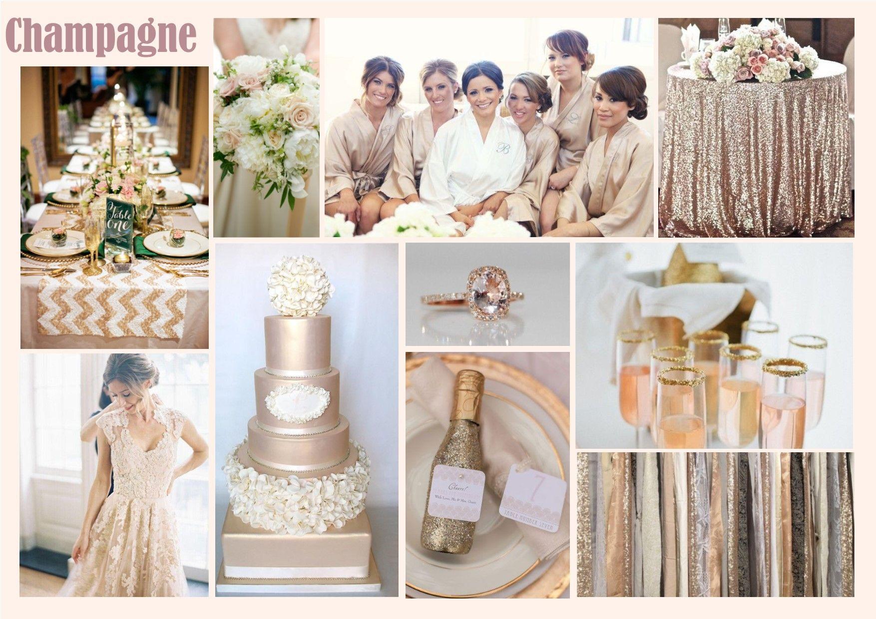 peach champagne wedding - Google Search | Wedding Decor & Flowers ...
