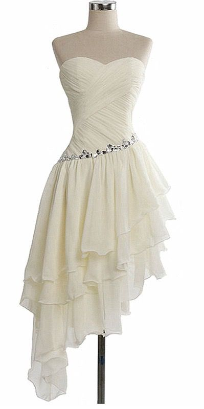 3c2368d6f654 Charming Homecoming Dress Chiffon Homecoming Dress Pleat Homecoming ...