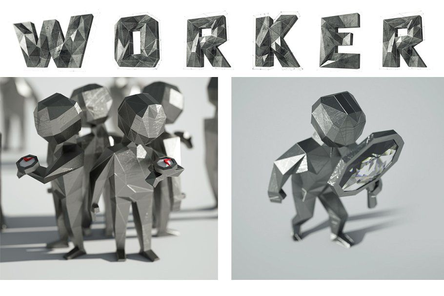 3d workers in 2020 illustration business illustration