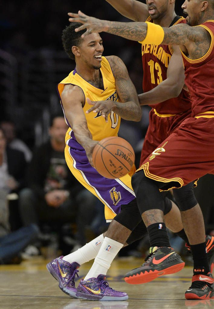 4e7795a9d7e SoleWatch  Nick Young Wears the  Prelude  Nike Kobe 4