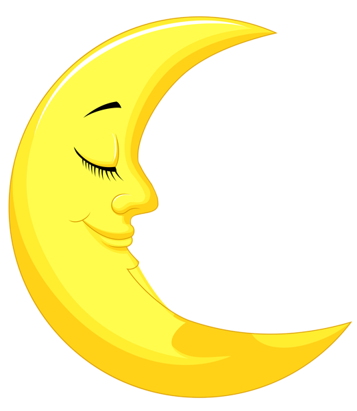 Cute Yellow Moonpng Clipart Picture Moon Cartoon Moon Drawing Clip Art