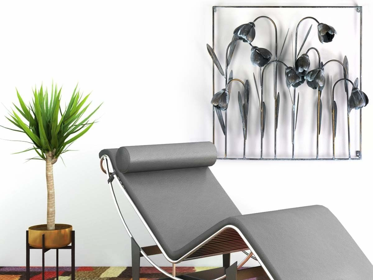 Wandbild Metall 3d : wandbild mit tulpen aus metall in 3d optik 75x75cm 119 00 wandbilder w nde wohnzimmer modern ~ Watch28wear.com Haus und Dekorationen