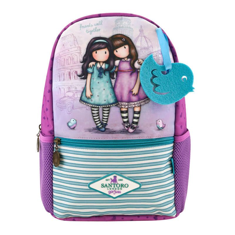 Gorjuss Friends Walk Together Small Rucksack