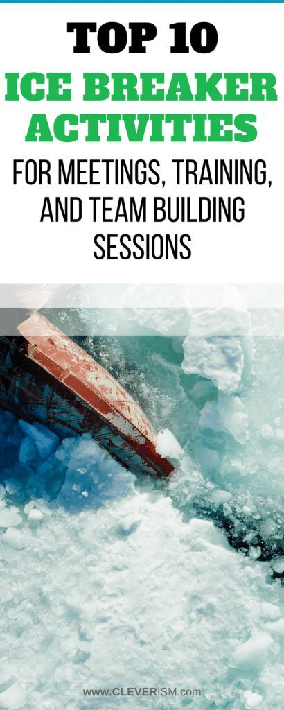 Top 10 Ice Breaker Activities for Meetings, Training, and Team Building Sessions