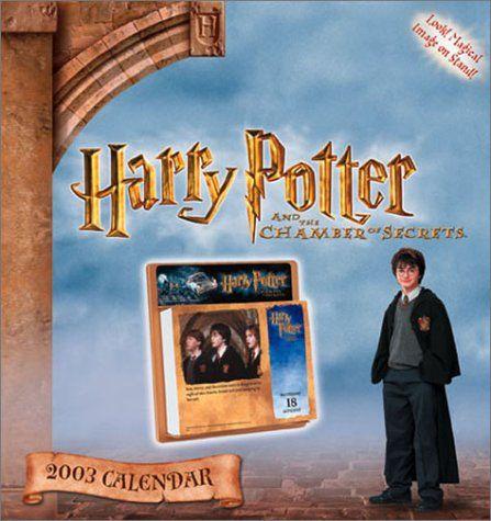 harry potter calendar 2003 also 2014 and 2025 niftywarehouse