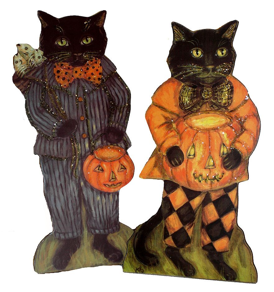 vintage halloween decorations | Vintage Halloween Decor ...