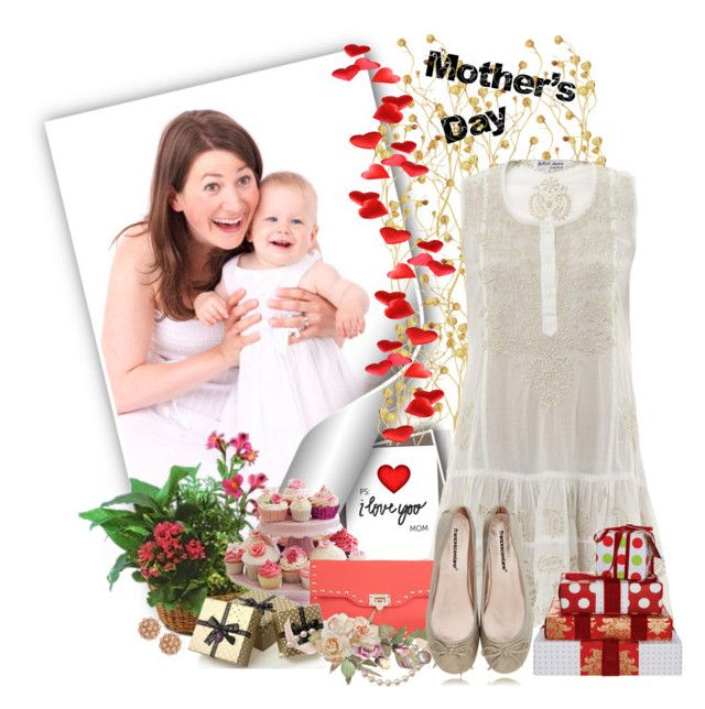 """Mother's Day"" by mayara1011 ❤ liked on Polyvore featuring Juliet Dunn, PLANT, Miss Co, Francesco Milano and BaubleBar"