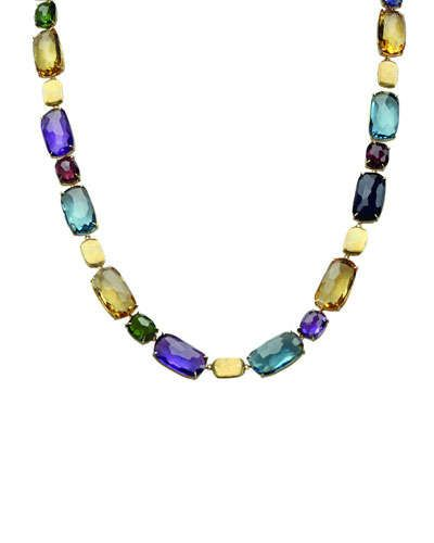 Marco Bicego Jaipur Tourmaline & Amethyst Collar Necklace DgegUAW