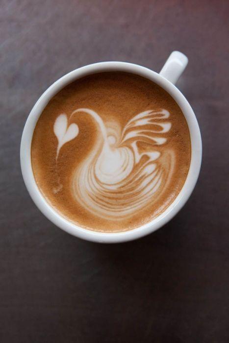 Coffee art  #coffee  #art  #latte