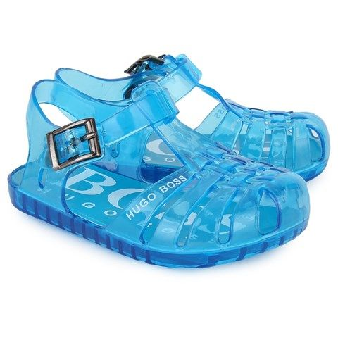 baby boy hugo boss jelly shoes
