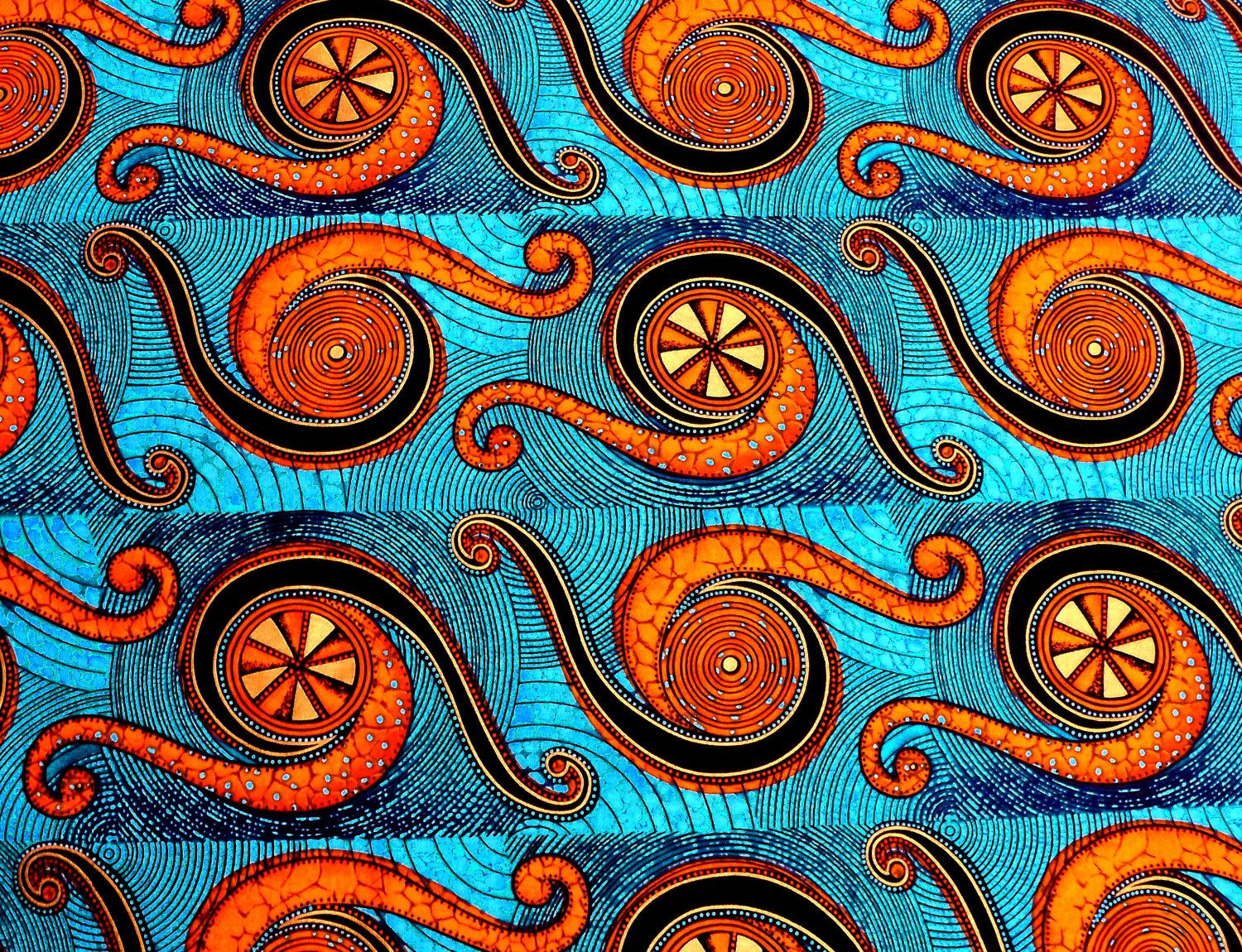2 Yards of Original African Fabric from the SHAMASH & Sons ... - photo#14