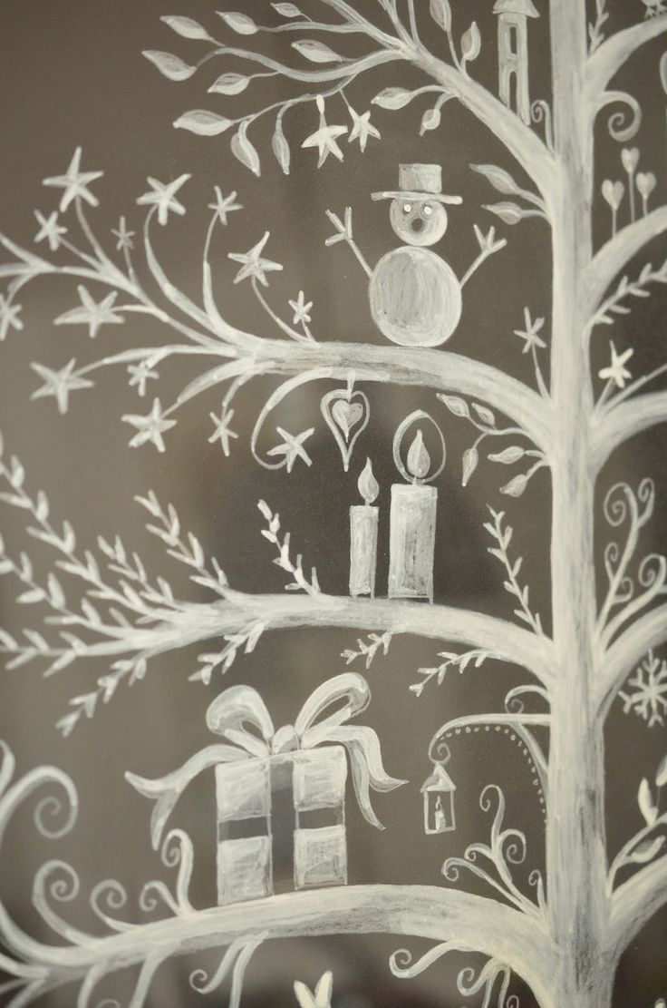Malvorlagen Fenster Kreide  Coloring and Malvorlagan