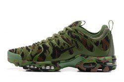 ecfc54053c43b Delicate Nike Air Max Plus Tn Ultra Army Green Camouflage 898015 022 Women's  Men's Running Shoes Sneakers