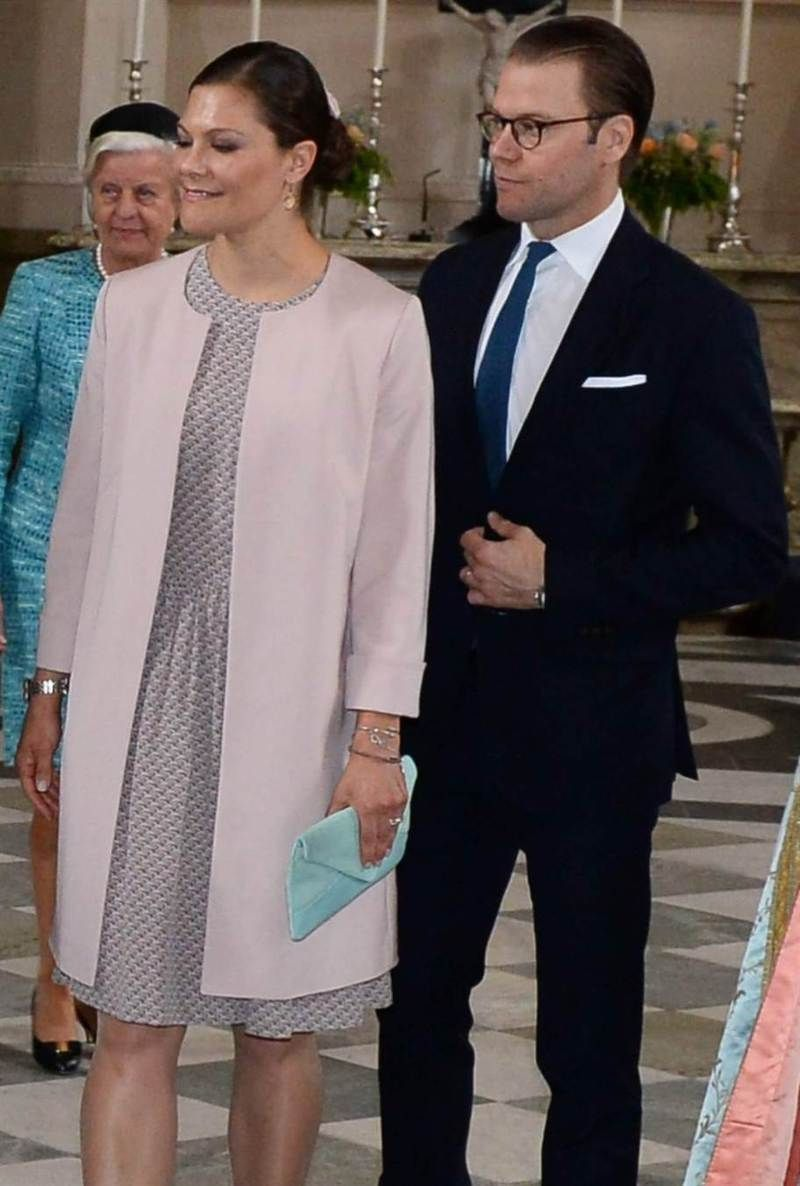Sweden Royal Family attends 'Te Deum' service at the Royal Chapel on June 18, 2015