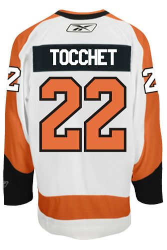 978f4b310 Philadelphia Flyers VINTAGE Rick TOCCHET #22 *C* Official Away Reebok  Premier Replica NHL Hockey Jersey (HAND SEWN CUSTOMIZATION)