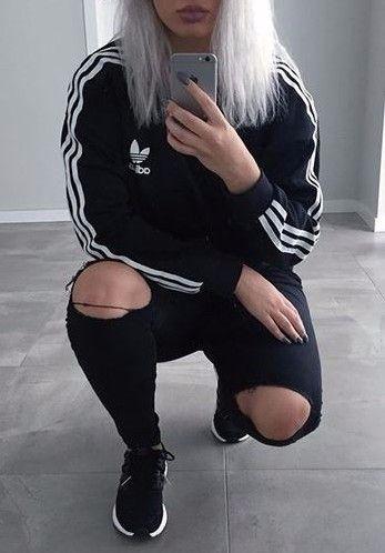 PIN por Ariella sobre la ropa que quiero en mi armario Pinterest adidas