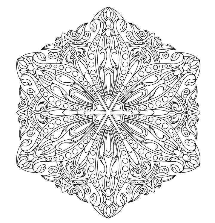 Pin de Pam Musheno en Coloring | Pinterest | Mandalas, Terapia y ...