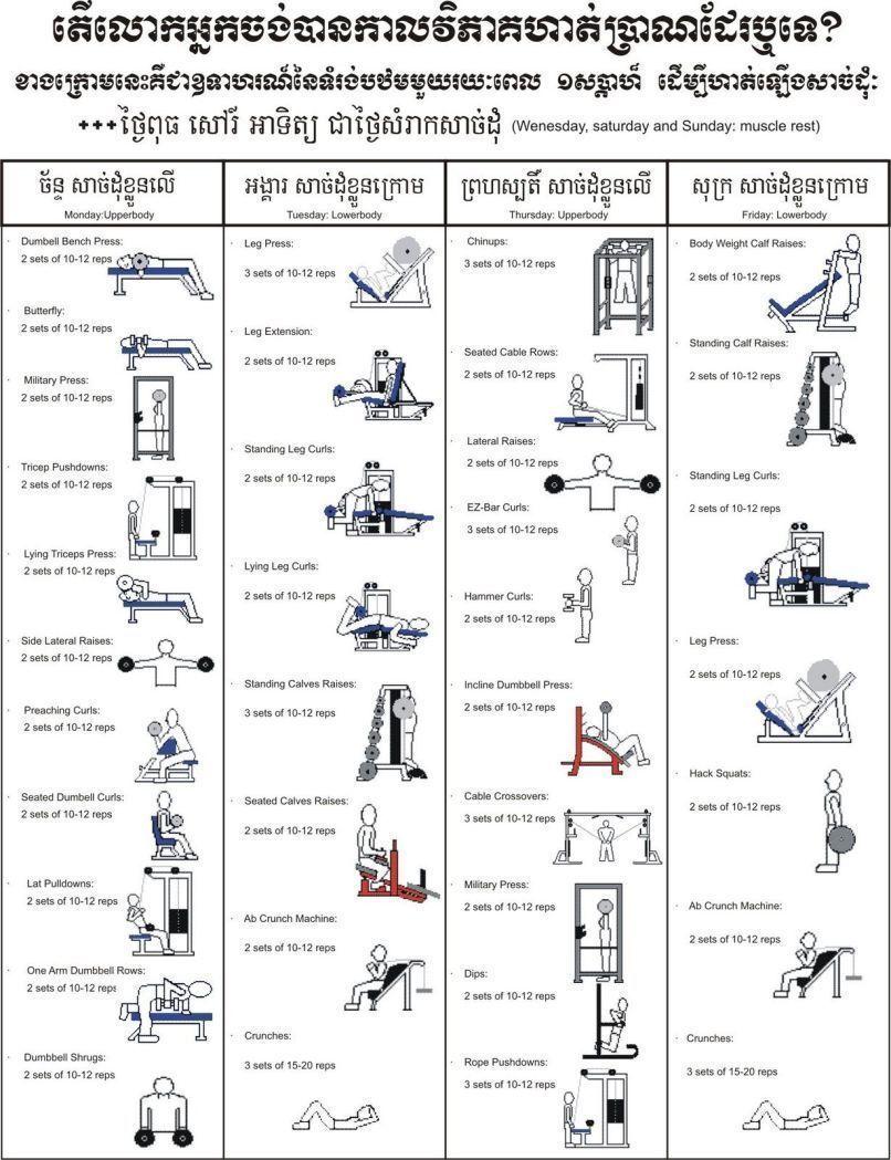 #Abbildungen #FitnessstudioTrainin #GymnastikÜbungsNamen #Gymtutor #kettlebell trainingsplan muskela...