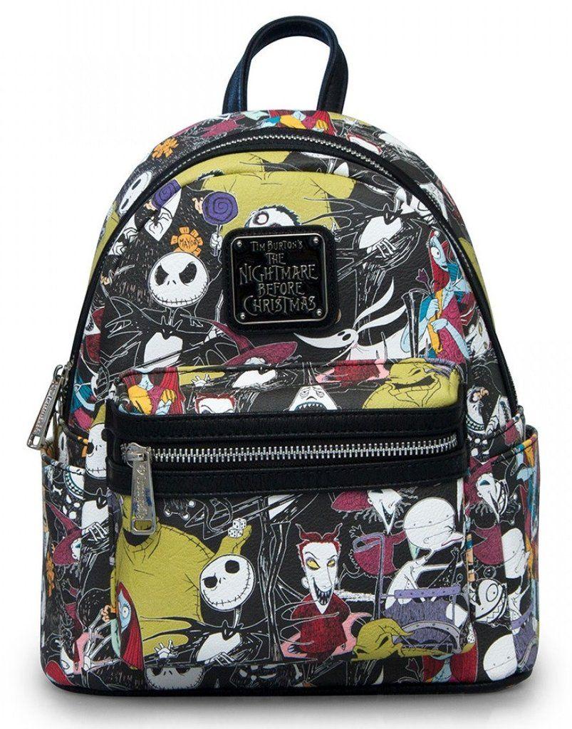 reasonably priced biggest discount super popular Loungefly Nightmare Before Christmas Jack Vegan Mini Backpack ...