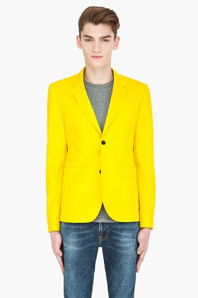 17 Best images about Yellow Jackets on Pinterest | Linen suit ...