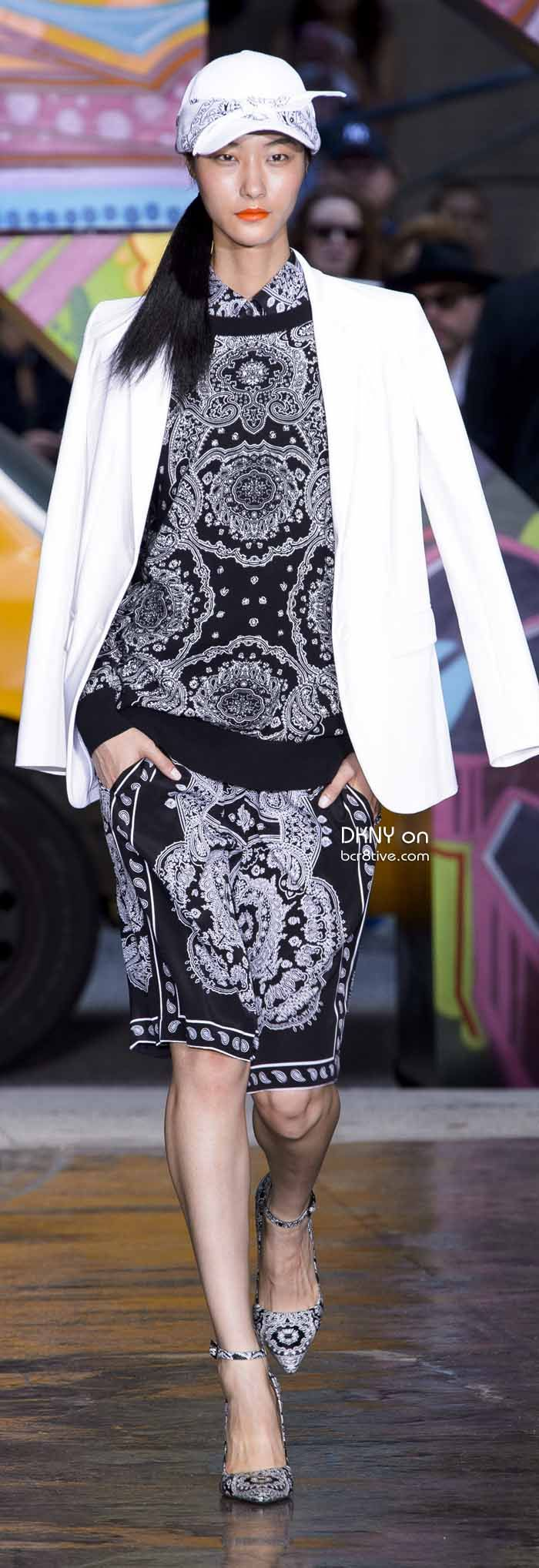 DKNY Spring 2014 New York Fashion Week » #NYFW