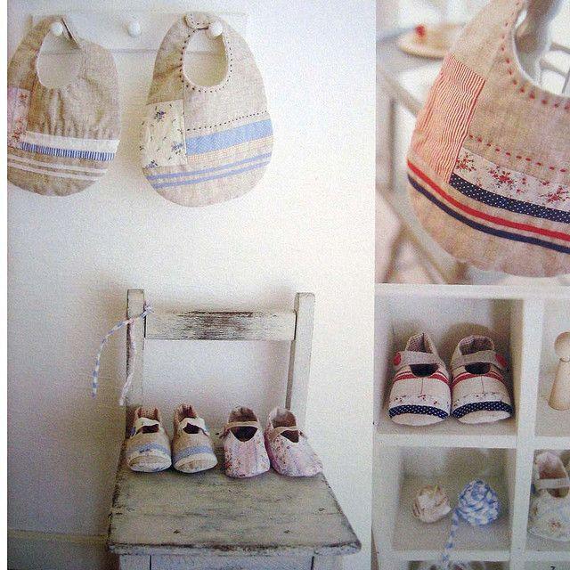 handmade zakka for baby by feltcafe, via Flickr