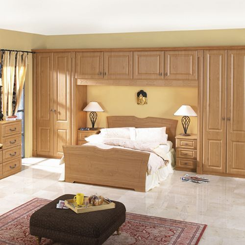 Cabin Bedroom Fitted Furniture: Fitted Over Bed Wardrobes - Google Search