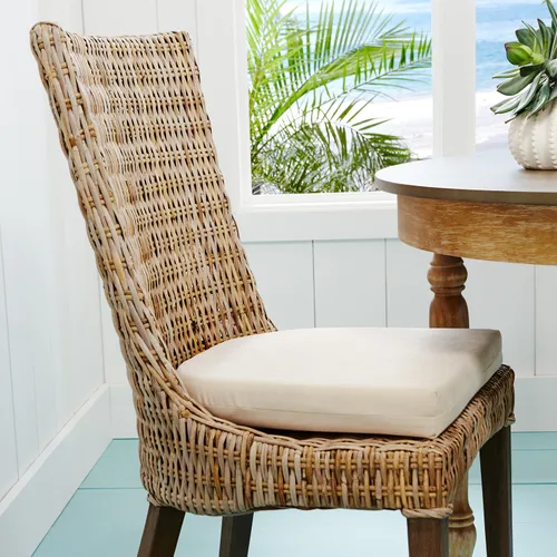 Cantik Gray Wicker Dining Chair Pier 1 Dining Chairs Wicker