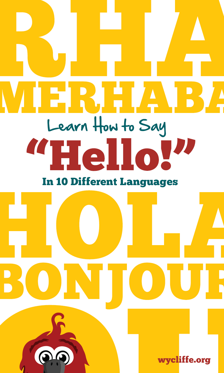 Download our free activity to teach your kids how to say