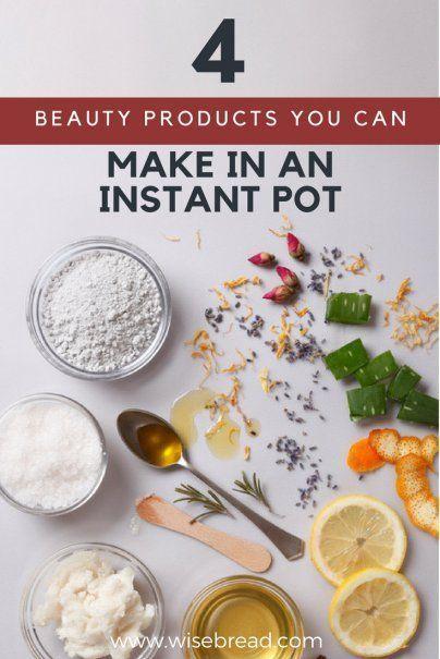 4 Schönheitsprodukte, die Sie in einem Instant-Topf herstellen können #homemadeskincare