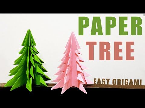 Photo of Paper tree origami | easy step by step