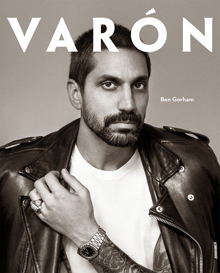 Ben Gorham en portada de Varón Magazine #8 | Male Fashion Trends