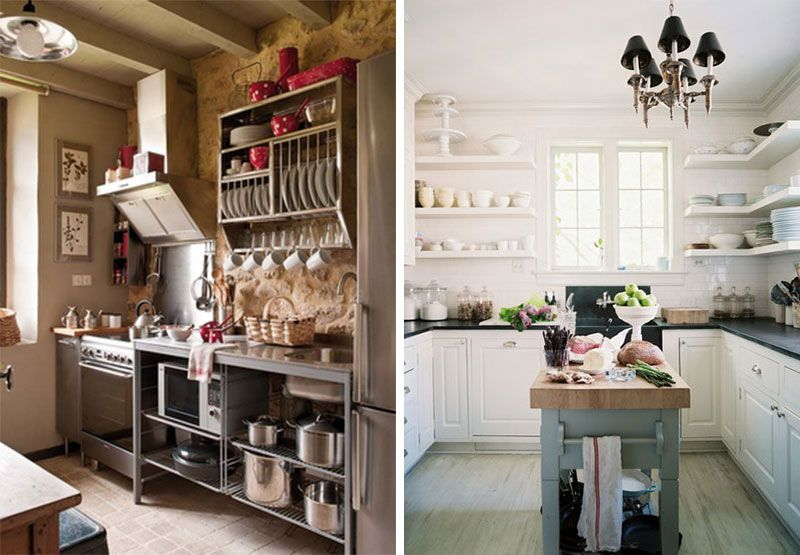 Kitchen Exposed Shelving Google Search