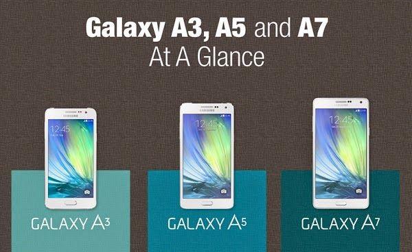 Perang Galaxy A3 Vs A5 A7
