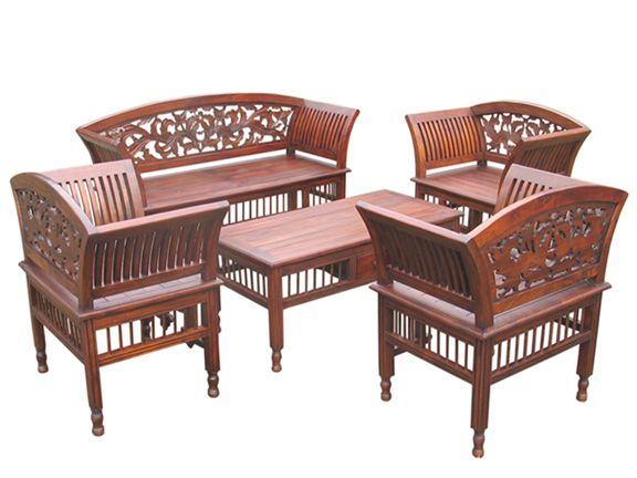 Kursi Tamu Kartini Furniture Jepara Harga Jual Murah Furniture Wooden Sofa Outdoor Furniture Sets